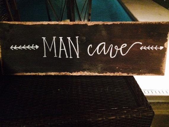 Rustic Man Cave Sign : Rustic man cave sign hunting wood wooden