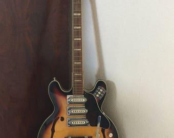 Vintage 1960s Strat.O.Lin Electric Guitar