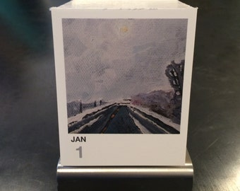tinyExpanse 365 reusable daily desk calendar