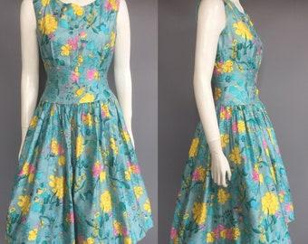 1950s day dress / 50s sundress