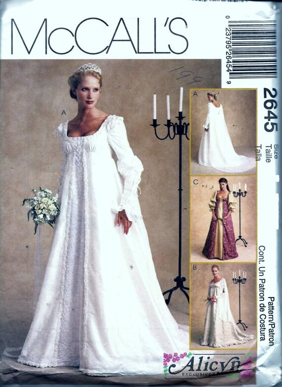Misses de renacimiento Medieval vestido novia vestido de novia solía ...
