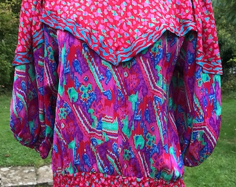 1980s Top/Blouse by Susan Freis