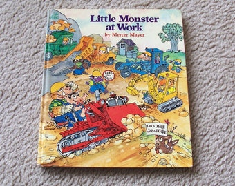 Mercer Mayer Children's Book, Little Monster At Work