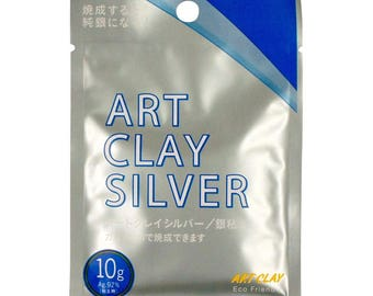 Art Clay Silver 650 CLA001 Low Fire Clay 10 grams metal clay PMC
