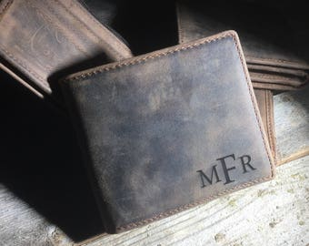 Credit card wallet, Personalized Cowhide Wallet, personalized Wallet, personalized leather Wallet, cowhide leather wallet