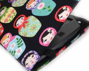 Kindle Touch cover - Matryoshkas - also fits Kindle Paperwhite - cute Russian Nesting Doll print eReader case Kindle Voyage