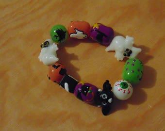 Ghosts and Bats Bracelet