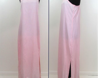 Pink Floor Length Slip - S-M