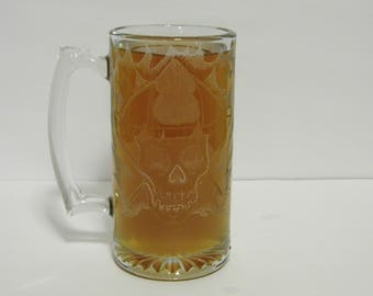 Firefighter Huge Beer Mug - beer stein - 24oz - Ships Priority you'll be drinking out of it in just a couple days! C Shop 4 More Awesome!