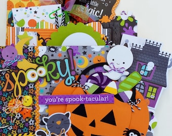 Trick or Treat Mini Album Kit