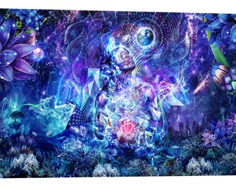 """Giclee Canvas Wall Art """"Transcension"""" by Cameron Gray"""
