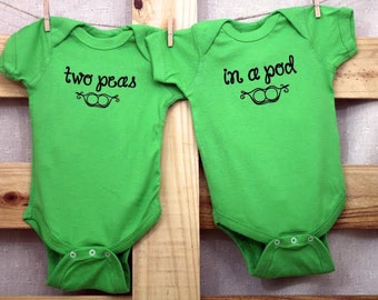 Two Peas In A Pod Set (You choose size)
