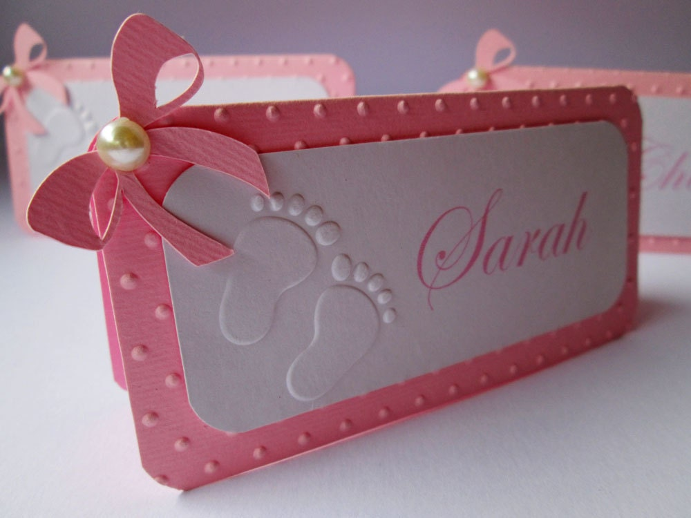 baby shower place card - Roho.4senses.co