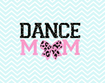 Dance Mom SVG - Dance Mom - Dance Mom Bow SVG - SVG - png - dxf (Two Styles of Bow Leopard & Zebra Svg Bow)