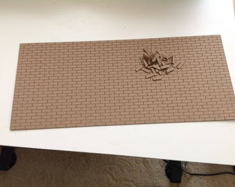 1:24 Scale Brick Sheet Custom Laser Cut