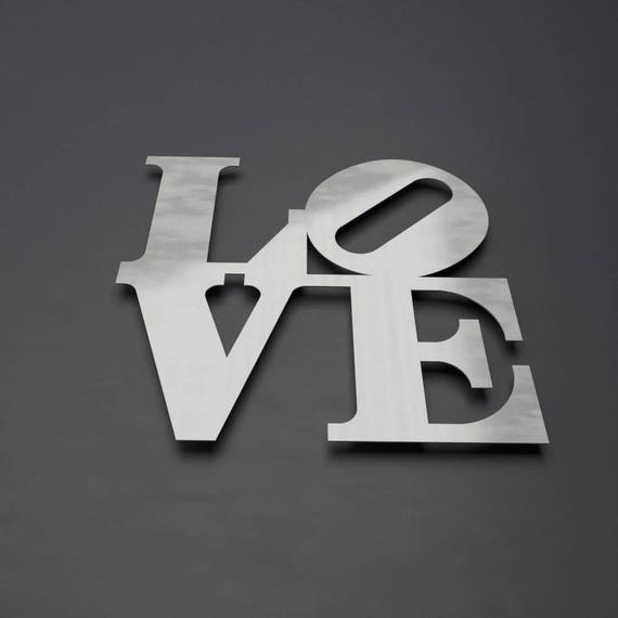 Large Metal Love Wall Art Gorgeous Love Park Sign Metal Wall Art Philadelphia Love Park Word Design Ideas
