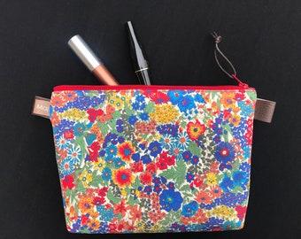 Liberty makeup bag, cosmetics bag, Liberty of London,  travel bag, washbag, perfect present, teenage gift, Christmas