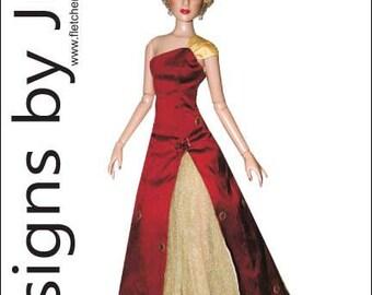 PDF Mesmerizing Dress Pattern for Cami & Antoinette Tonner