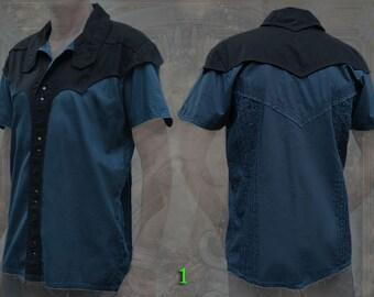 Arkana Shirt ~ marvelous short sleeve button down men neo tribal