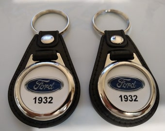 1932 Ford Oval keychain 2 pack