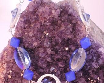 The Sutton Hoo Bracelet in Blue Glass