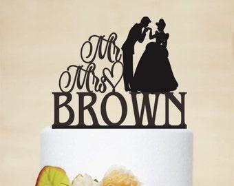 Horse & Carriage Cake Topper Disney Princess Wedding Cake