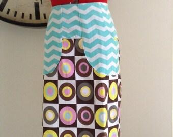 Ladies knee length skirt