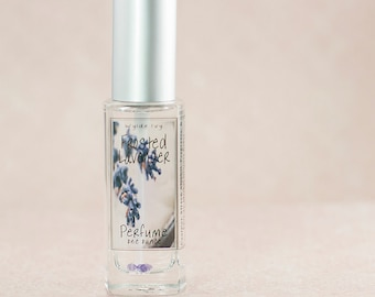 Frosted Lavender Perfume | Feminine Fragrance of  Fresh Lavender, Cream, and Sugar