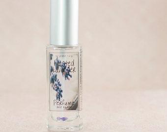 Frosted Lavender Perfume   Feminine Fragrance of  Fresh Lavender, Cream, and Sugar