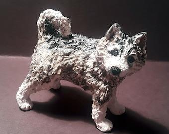 Sculpture Miniatures Pet Portrait Custom Figurine Pet Memorial One Of a Kind Dog Lover Gift