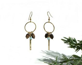 BEW GAYA FLORA gold earrings