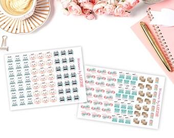 Kawaii sticker seller sticker -- perfect for Erin Condren, Kikki-K, plum paper and more