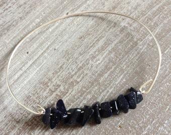 Blue Sand Stone bracelet