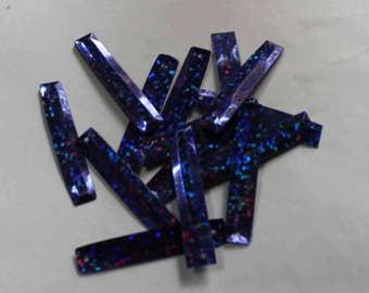 50 sequins/ Purple color/glitter effect/KBRGS716