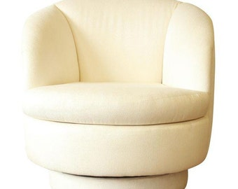 ON HOLD - Milo Baughman for Thayer Coggin Swivel Club Chair