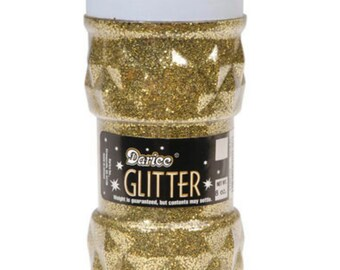 Darice Glitter, Big 8 oz Jar!