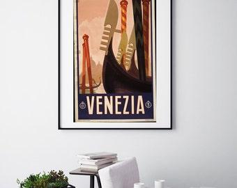 Venezia - Vintage Print - Italian Collection