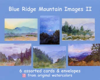 Boxed Cards - Blue Ridge Mountain Images II