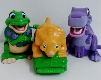 Toys- Land Before Time Wind-Ups, Set of 3