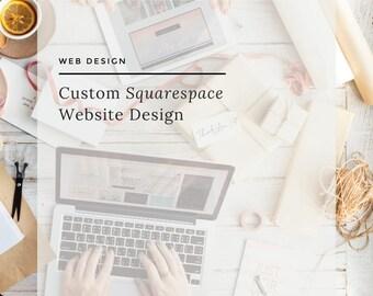 Squarespace Website Design, Website Design, Squarespace Theme Design, Squarespace Blog Design, e-Commerce Website, On-line Shop, Web Design