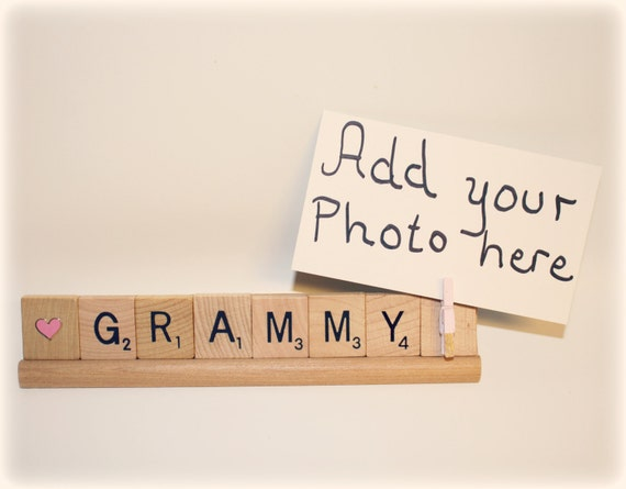 Grammy Photo, Grammy Photo Holder, Grammy Frame, Birthday, Gift for ...