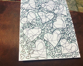Abstract Love Drawing