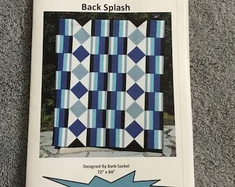 BACK SPLASH - Quilt Pattern Only