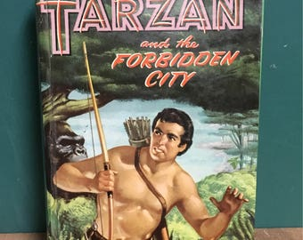 Tarzan and the Forbidden City Hardcover Book
