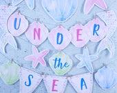 Mermaid Banner Printable,...
