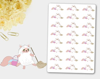 Funny Bagot Cat, Hand Drawn Pet, Pet Stickers, Cat Stickers, Cat Planner, Funny Cat, Cat lovers, Pet Character