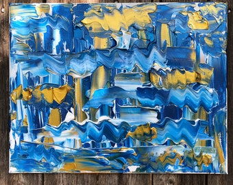 11X14 abstract acrylic