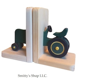 childrens wood bookends