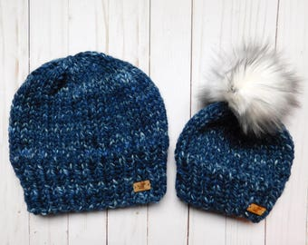 Daddy and Me hats set. Dad's gift ideas. Matching hat Dad and son. Dad and Daughter matching hats. Gift set for him.