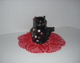 Vintage Cat Tea Pot Made in Japan